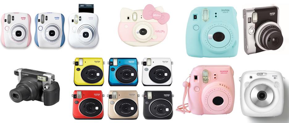 Fuijfilm instant camera's - Beste Polaroid Camera 2018