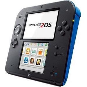 Nintendo 2DS Console - Zwart Blauw + Mario Kart 7