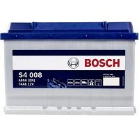Bosch auto accu 12V 74 AH S4008