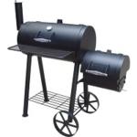 Fire Beam Houtskoolbarbecue - Smoker - 35 x 66 cm - Zwart