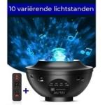 Zedar sterren projector - Zwart
