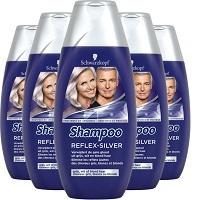 Schwarzkopf Reflex Silver Shampoo 6x 250ml