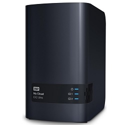Western Digital My Cloud EX2 Ultra 8TB NAS