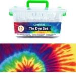 QBIX Tie Dye Textielverf Set van 15 kleuren