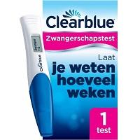 Clearblue Zwangerschapstest
