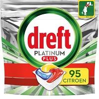 Dreft Platinum Plus All In One Lemon