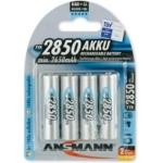 Ansmann AA 2850 mAh Oplaadbare Batterijen