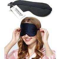 Trendfield Zijden Zacht Slaapmasker 100% Zijde