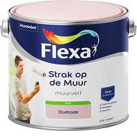Flexa Strak op de muur Muurverf