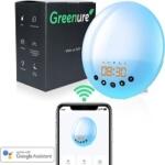 Greenure Wake Up Light met App